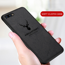 Protective Case for HUAWEI Honor 10 lite Case Cover TPU Silicone Bumper Soft DEER Cloth Fabric Cover For Huawei honor 10 case стоимость