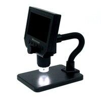 USB Digital Microscope Camera LED Electronic Microscopio 600X Glasses Magnifier Video Microscope For Mobile Phone Maintenance