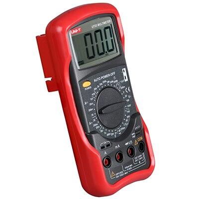 UNI-T UT53 Standard DMM multimètres numériques AC/DC multimètre ampèremètre UNIT-UT53 avec Test de température et Mode veille multimétros
