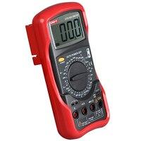 UNI T UT53 Standard DMM Digital Multimeters AC/DC Multimeter Ammeter UNIT UT53 W/ Temperature Test & Sleep Mode multimetros