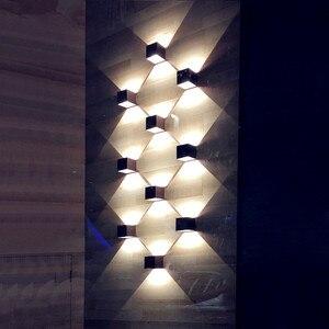 Image 5 - QLTEG חיצוני עמיד למים IP65 מנורת קיר תאורה דקורטיבית מקורה אור קיר הוביל מודרני מנורות קיר מרפסת אורות גן מנורות קיר