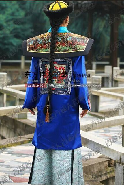 Ancient Chinese Hanfu Male Costume Qing Dynasty Court Officer Prince or Soldier Costume V&ire Costume for Halloween & Online Shop Ancient Chinese Hanfu Male Costume Qing Dynasty Court ...