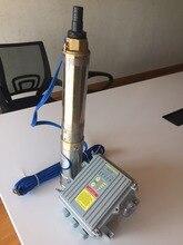 Солнечный насос гарантия 3 года бомба sumergible солнечной