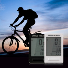 LCD 24 Function Bike Computer Road MTB Bike Bicycle Wireless Cycle Computer Stopwatch high quality