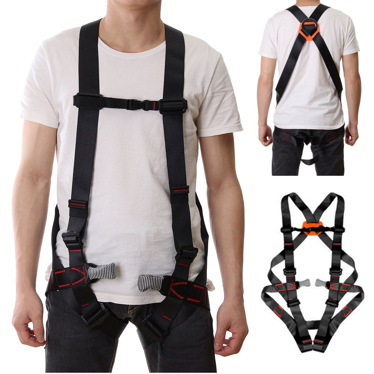 Hot Outdoor 800KG Climbing harnesses Safety Rappelling Belt Mountaineering Harnesses rock Seat Sitting Bust Protective Belts цена