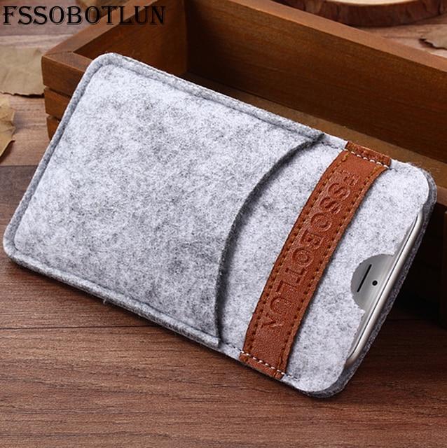 "FSSOBOTLUN,6 Styles,For UMIDIGI S2 Pro 6.0"" Phone Case Handmade Wool Felt Sleeve Pouch Protective Cover Pocket Case UMIDIGI S2"