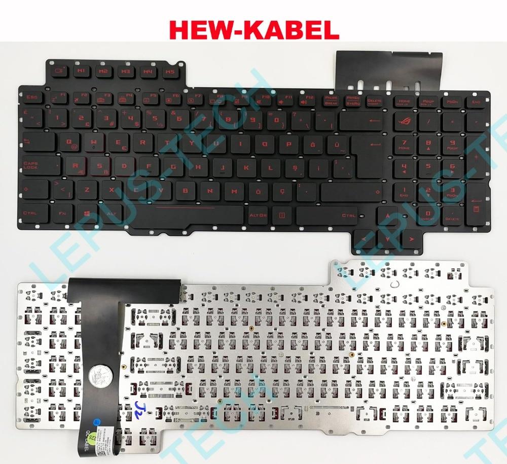 New For Asus ROG G752 G752VT G752VL G752VY G752VT-DH72 US Keyboard Backlit
