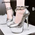 silver wedding shoes gold pumps sexy high heels platform pumps party shoes for women pumps studded heels womens shoes heels X142