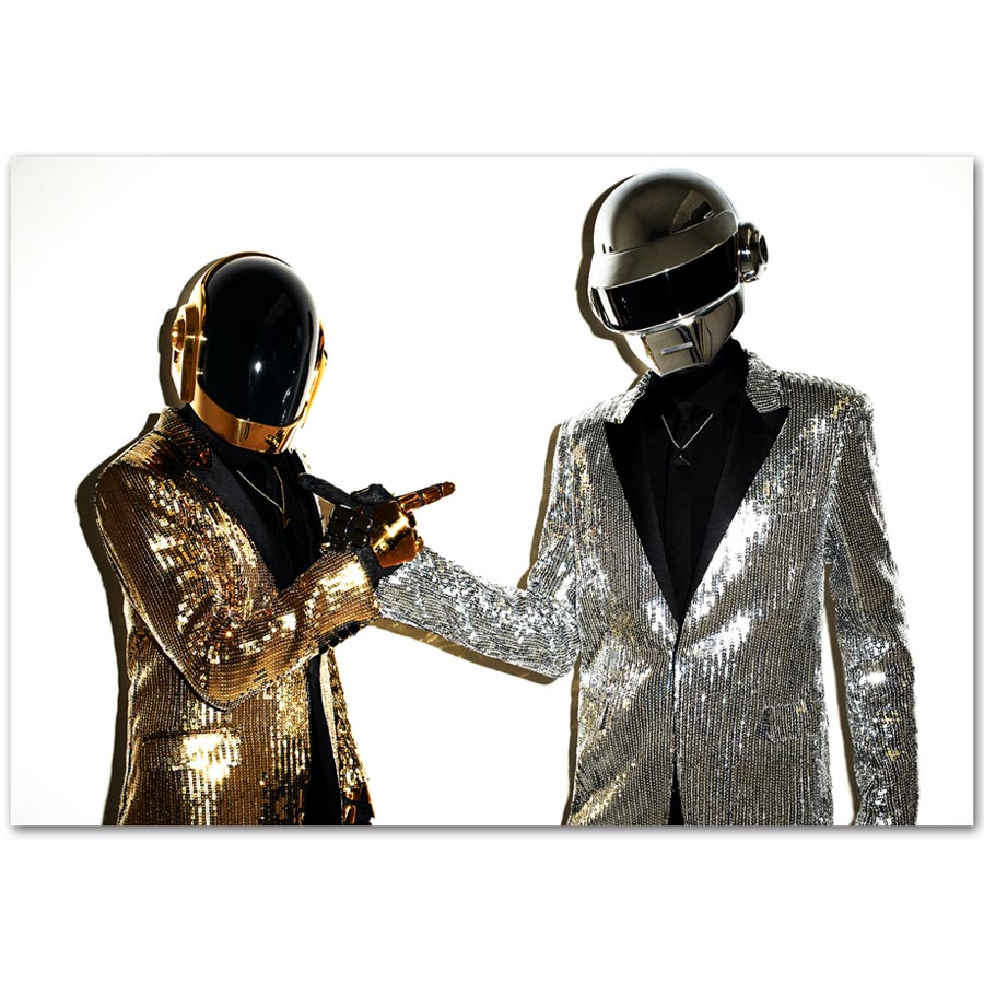 A783 Hot Daft Punk The Weeknd Starboy Metallic Rap DJ Top ...