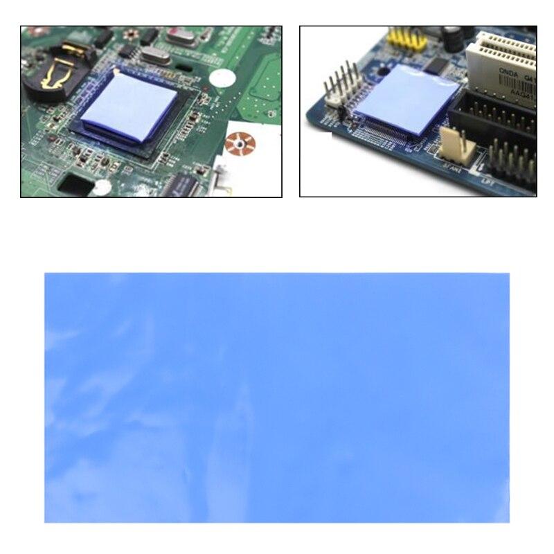 Thermal Conductive Pad Heatsink Cooling Silicone Pad GPU font b CPU b font LED Heatsink Cooling