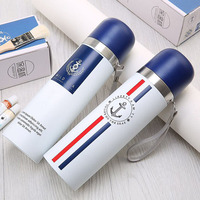 JUCESUPER Personalized Stainless Steel Vacuum Flasks 500ml Car Thermos Cup Small High Quality Coffee Tea Milk