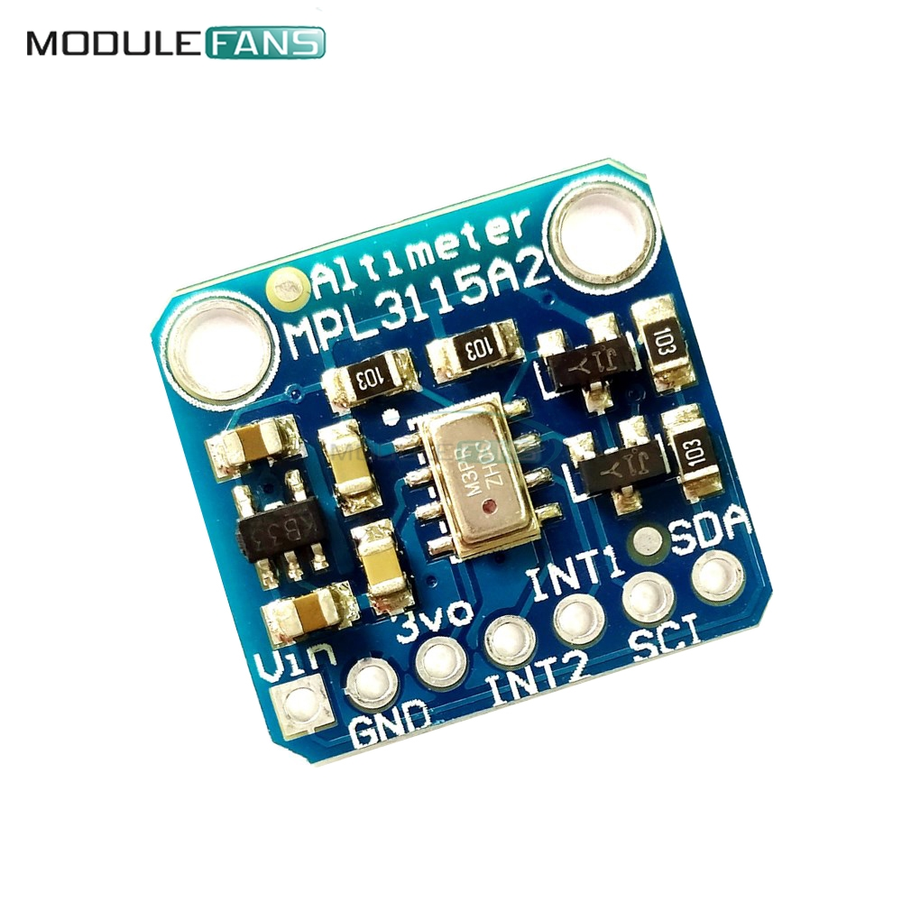 New MPL3115A2 I2C Intelligent Temperature Pressure Altitude Sensor