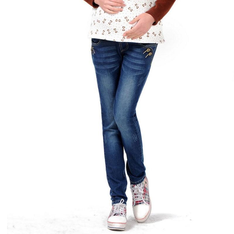 Abdominal Denim Pants Maternity Jeans For Pregnant Women Trousers Pregnancy Clothes Denim Pants Elastic Waist Maternity Clothing
