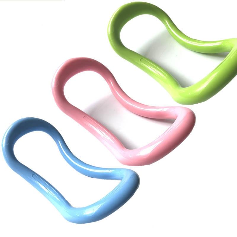 <+>  24   13   7 см Yoga Circle Yoga Stretch Ring Главная Женщины Фитнес-оборудование Фасция Массаж Трени ★