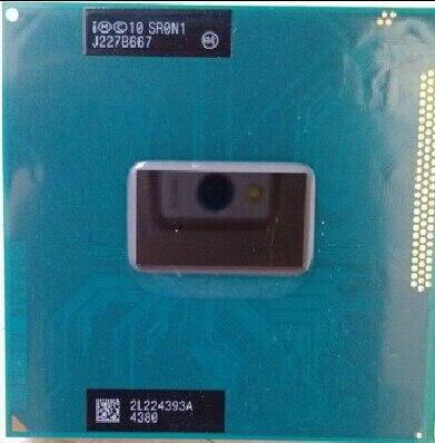 Intel I3 3110M I3 3110M  CPU Notebook Processor Core I3-3110M 3M Cache, 2.40 GHz, Sr0n1 CPU PPGA988 Support HM76 HM77