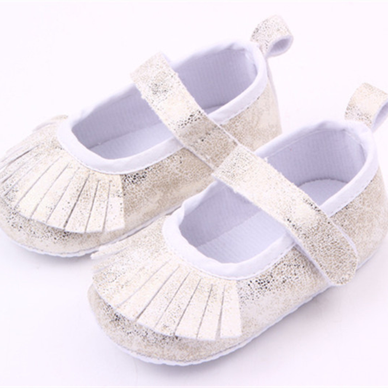 2016 New Infant Baby Shoes 3 Colors Sequins Bling Tassels Soft Bottom Baby  Girl Shoes First Walkers Wholesale 11 cm 12cm 13 cm-in First Walkers from  Mother ... 2e6fe325493a