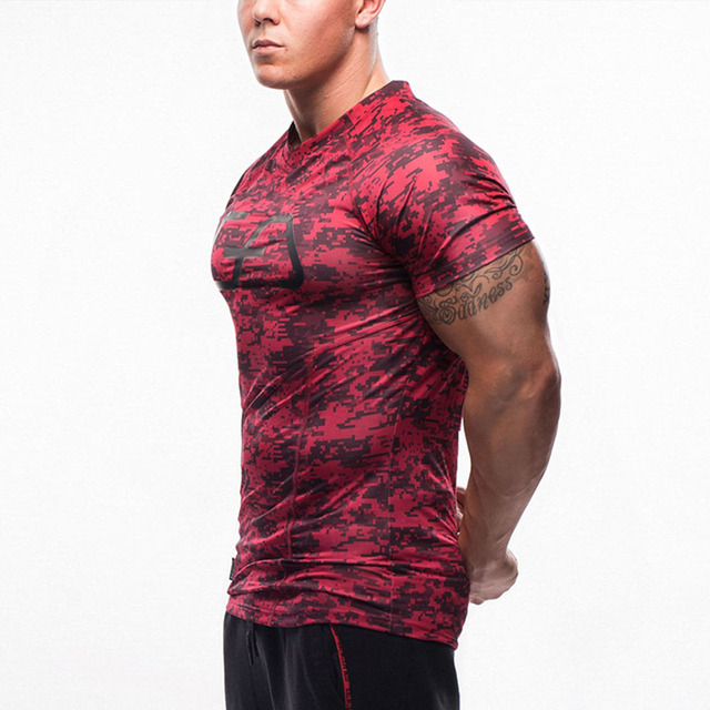 Quick Dry Casual Stretch  Tee Shirt