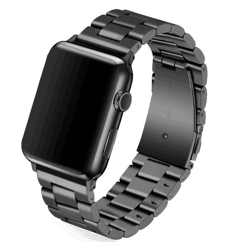 Stainless Steel Band for Apple watch Series 3 / 2 Classic Buckle with Adapter Link Bracelet watchband Strap for iWatch 42mm 38m eastar milanese loop stainless steel watchband for apple watch series 3 2 1 double buckle 42 mm 38 mm strap for iwatch band