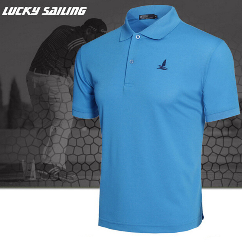 2017 New Men Brand Clothes Solid Polo Breathable Shirt Regular Slim Short Sleeve Anti-Wrinkle 6 Color Choice Factory Direct Sale