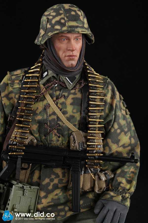 "Did d80125 독일 기갑 부대 mg34 gunner ver. B ""baldric"" 1/6 그림-에서액션 & 장난감 숫자부터 완구 & 취미 의  그룹 1"