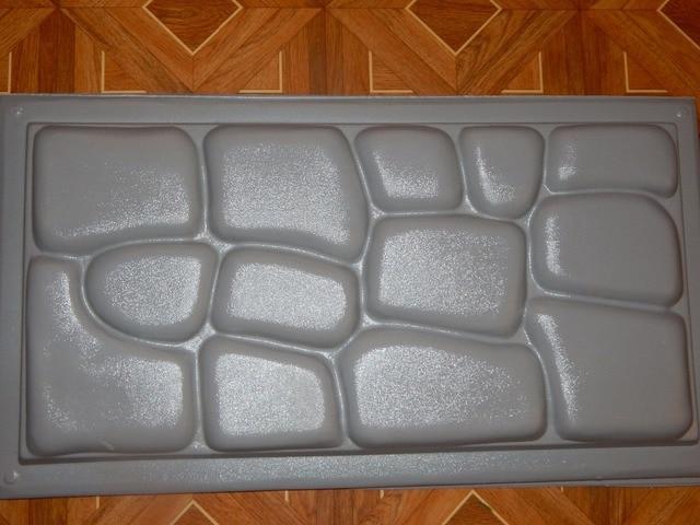 Piastrelle Di Cemento Colorato : Plastica stampi per intonaco di cemento pietra muro di piastrelle