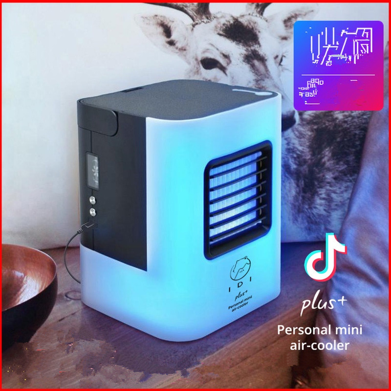 high quality portable mini air conditioner usb Personal portable water cooling fan 3.5w home air conditioner new usb mini cooling fan portable air conditioner for cars office table water air conditioner ventilator