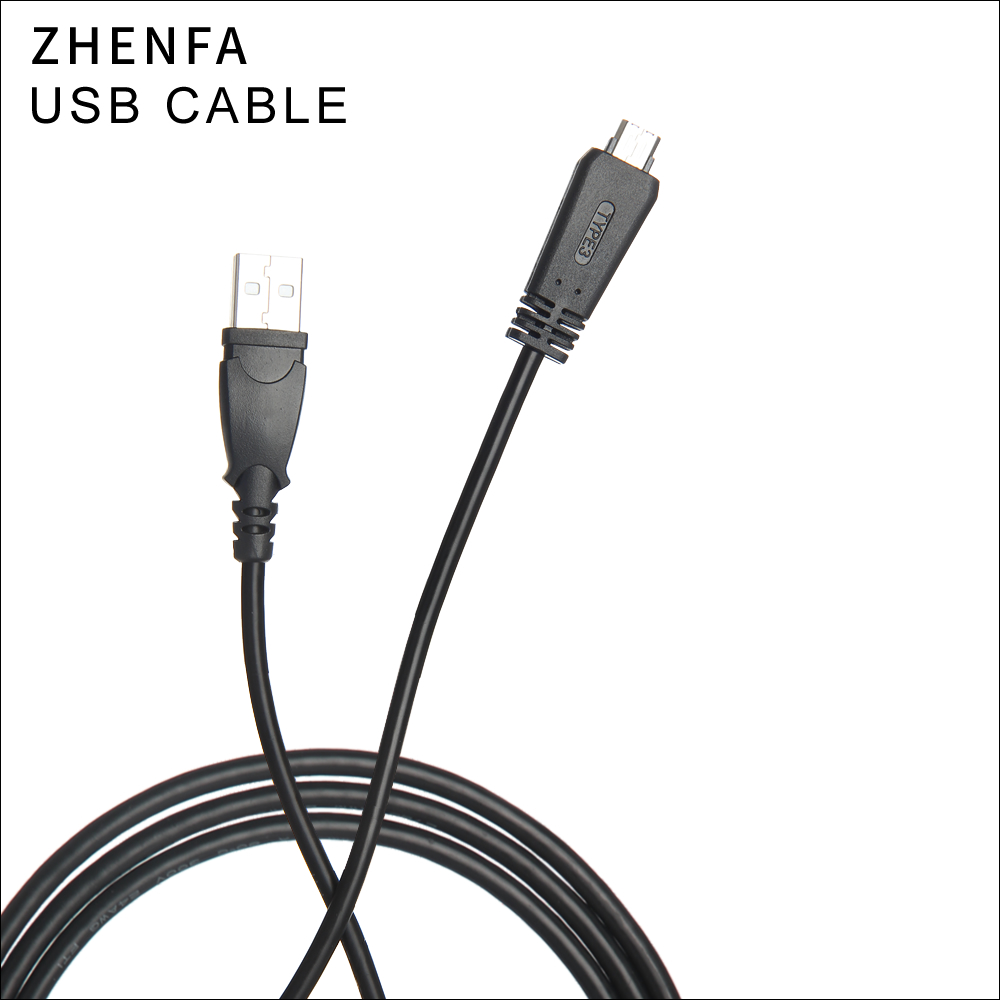 Zhenfa USB Cable For Sony Charging cord DSC-WX10,DSC-WX10/B/N/V DSC-WX30/B/N/P/S/V DSC-WX7/B/L/P/S/W DSC-WX9/B/L/R/S/V