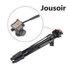 For Photo Cam Studio Light Weight Portable Aluminum Trip Tripod Stand CD50