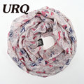 loop scarf for women winter circle scarf ring print fashion new design spring soft 2017 new arrival