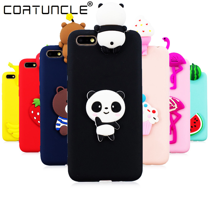 <font><b>Honor</b></font> <font><b>7A</b></font> Case on For Coque Huawei Honor7A <font><b>DUA</b></font>-<font><b>L22</b></font> case 5.45 inch Soft TPU Cover For Huawei Y5 2018 Cartoon Dolls Toys Phone Case image