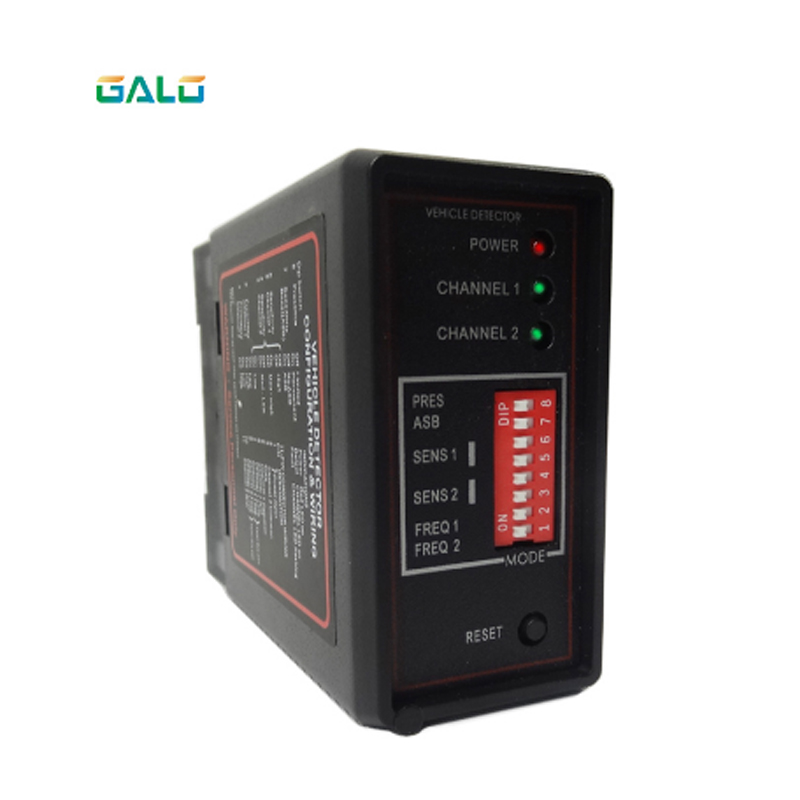 PD232 / PD234 Enhanced Dual-channel Induction Loop Vehicle Detector For Parking Barrier / Access Control System Sensor