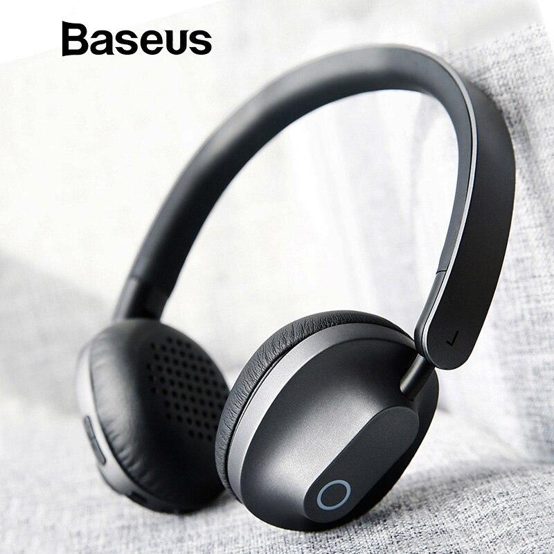 Baseus D01 Auricolari Bluetooth fone de ouvido Cuffie Senza Fili Con Microfono Auricolare Stereo Cuffie di Sport kulakl k Ecouteur