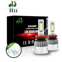6 COB Led Headlights H1 H3 H4 H7 H11 H13 9005 9006 LED Car Headlight Bulb