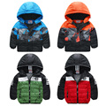 Boys child thickening wadded jacket outerwear baby boy jacket winter 2017 baby child cotton-padded fashion sports jacket