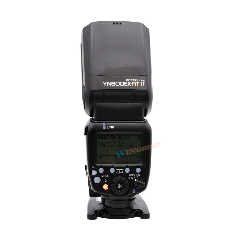 Image 3 - YONGNUO YN600EX RT II 2.4G Wireless HSS 1/8000s Master TTL Flash Speedlite for Canon 60D 650D Camera as 600EX RT YN 600EX RT II-in Flashes from Consumer Electronics