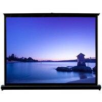Мини Портативный Экран 50 дюймов 4:3 домашний Кино HD DLP светодиодный проектор Таблица Экран путешествия проецирования Экран 50 ткань настольн