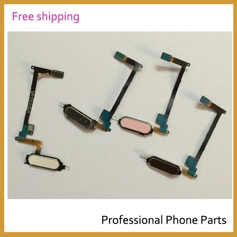 Original Home Key Buttons Sensor Flex Cable Ribbon For Samsung Galaxy Note 4 Flex  Mobile Phone Parts Replacement