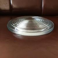 Diameter250mm EFL120mm Round Glass Spotlight Fresnel Lens for Stage Lamp Magnifier Threaded Lenses