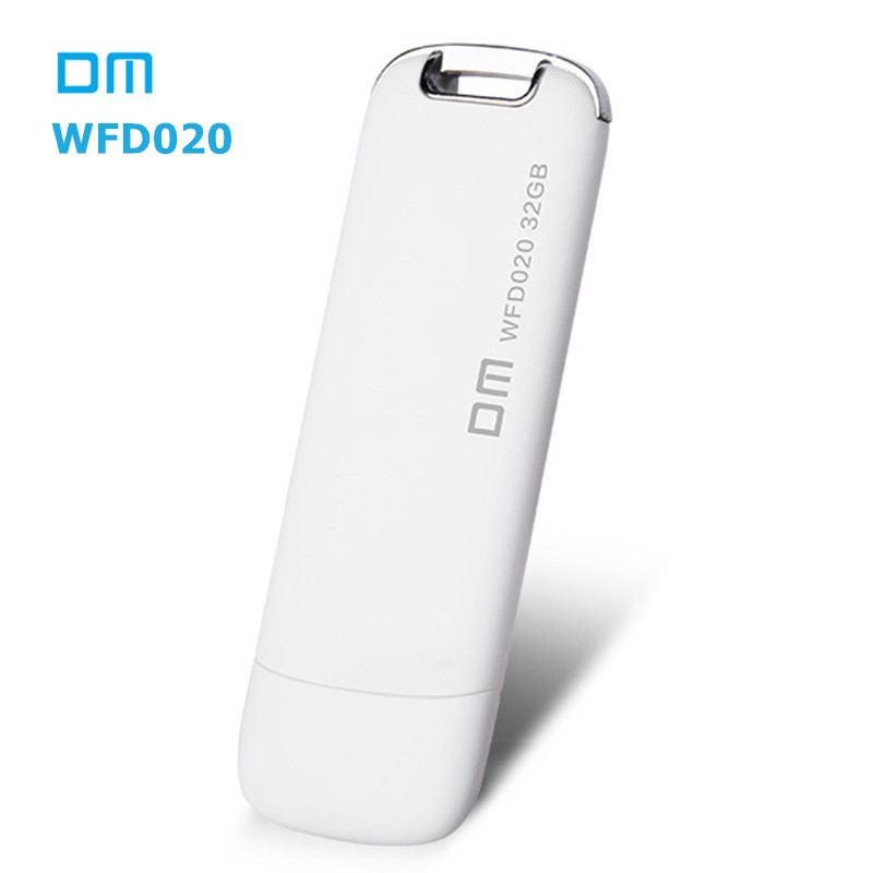 DM WFD020 Wireless USB 3.0 Flash Drives 32GB WIFI For iPhone / Android / PC Smart Pen Drives Memory Multiplayer With Share