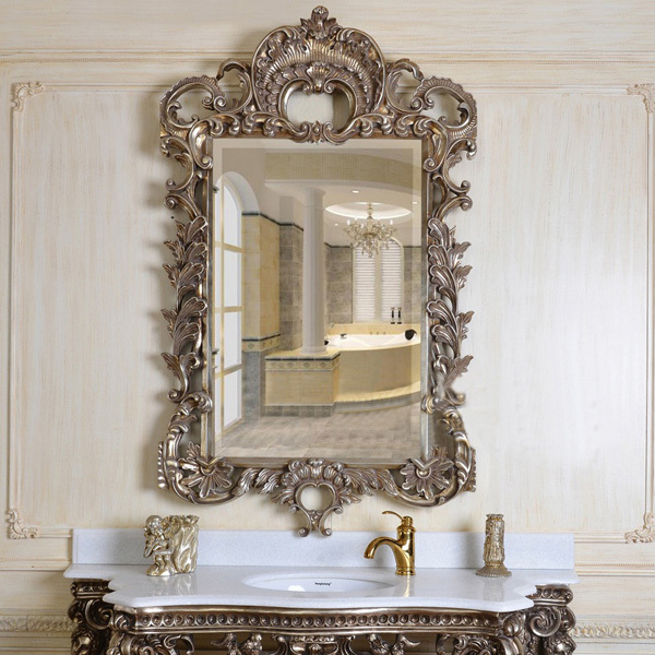 European refined resin mirror european style luxury decor wall art hotel or beauty salon used in - European inspired home decor photos ...