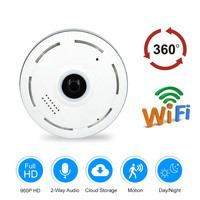 ZILNK Cloud WIFI IP Camera 360 Degree Panoramic Camera 960P HD Wireless Security CCTV Motion Detection Night Vision Fisheye