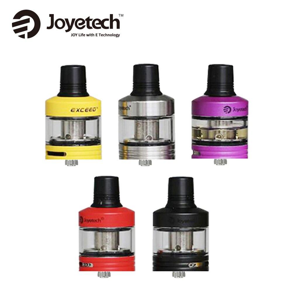 Joyetech Exceed D22 2ml <font><b>Atomizer</b></font> Extra Glass Tube 3.5ml Top Filling & Adjustable Bottom New EX Series Heads E Cig <font><b>Tank</b></font> Original