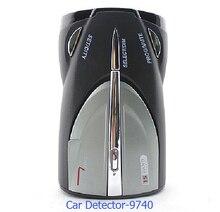 New Car Detector XRS-9740 Russa & Inglês voz 360 Graus 16 marca X K NK Ku Ka Laser Strelka Radar Anti Detector