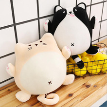 New Style Cute Funy Fat Cat Dog Plush Toys Stuffed Animal Doll Toy Soft Pillow Children Gift Kids