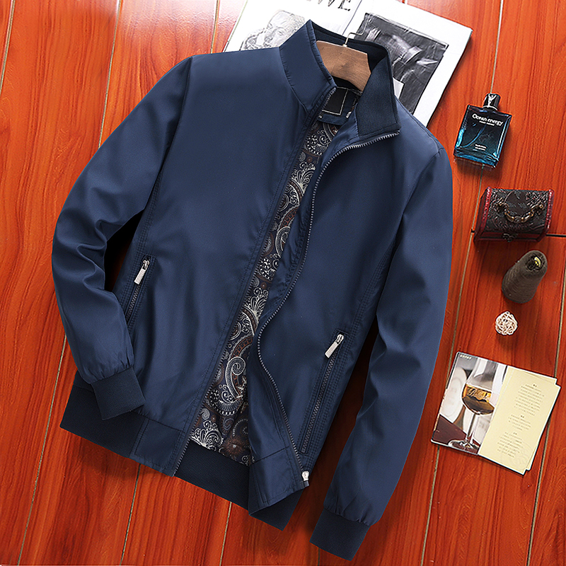 Cheap Wholesale 2019 New Autumn Winter Hot Selling Men's Fashion Netred Casual  Work Wear Nice Jacket MC325