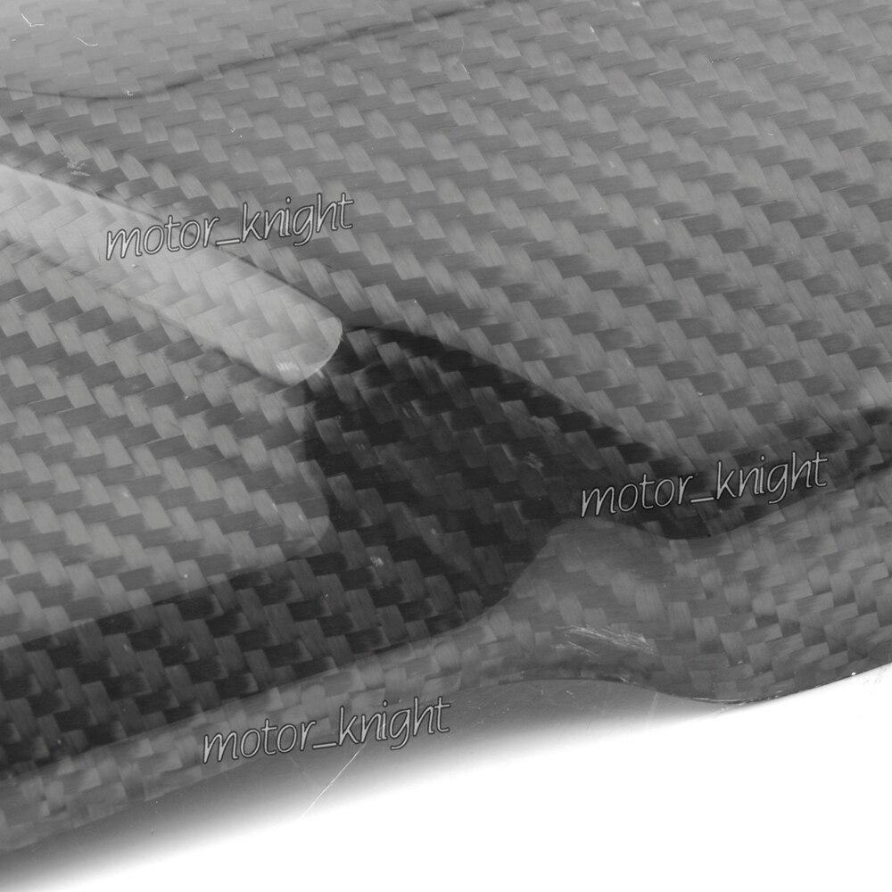 Accesorios de la motocicleta de fibra de carbono guardabarros delantero tenedor suspensión cubierta carenado para Kawasaki Z1000 2010, 2011, 2012, 2013