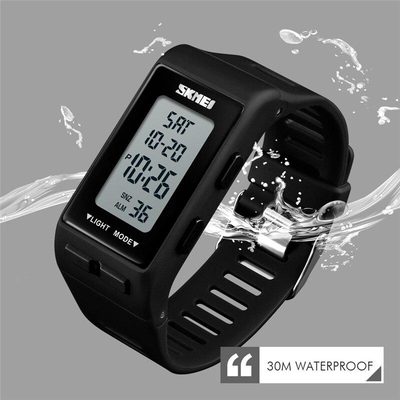 Sports Women Clock Waterproof Digital Wristwatches LED Sport Watch Relogio