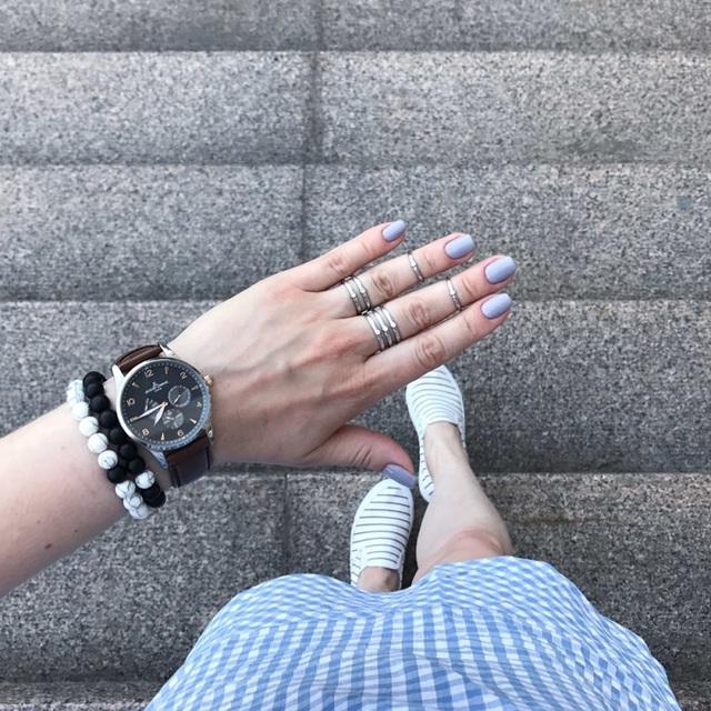 **NEW** 2Pcs/Set Classic Natural Stone White and Black Yin Yang Beaded Bracelets
