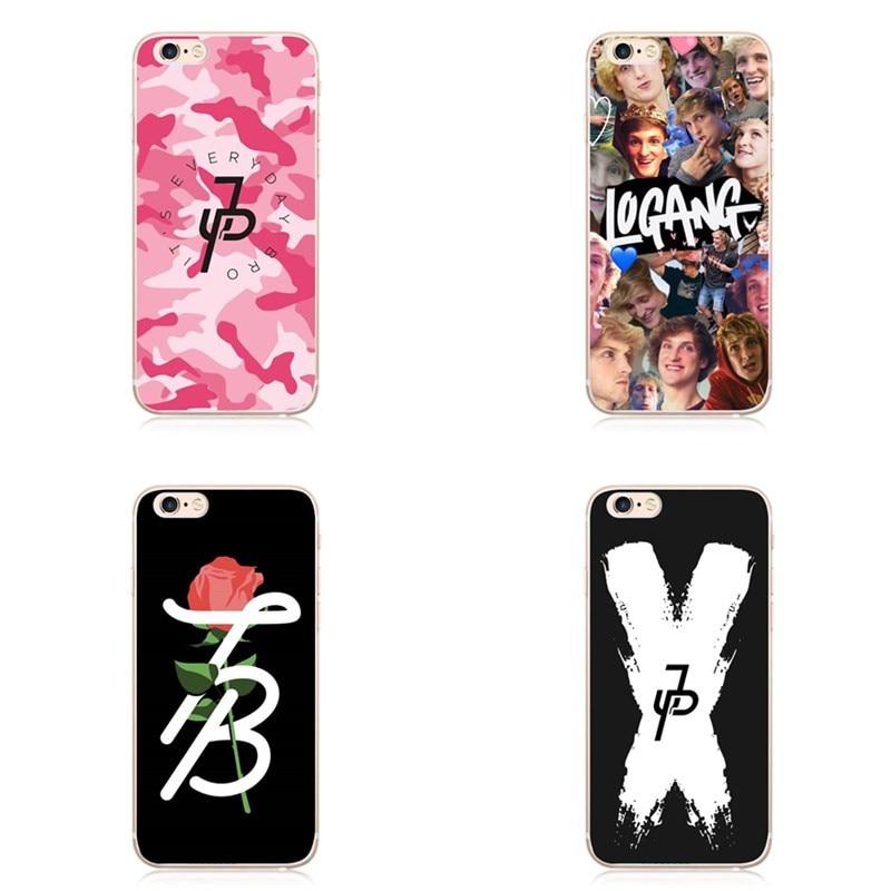 Kuliai Lavaza Jake Paul Team 10 Cover Case For iPhone X 10 8 8Plus 7 7Plus 6 6S Plus 5 5S SE Fashion personality cover