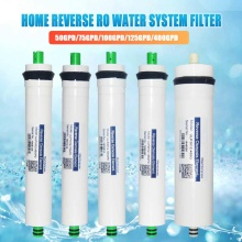 50/75/100/125/400GPD Home Kitchen Reverse Osmosis RO Membrane Replacement Filter Cartridges Water System Filter Water Purifing